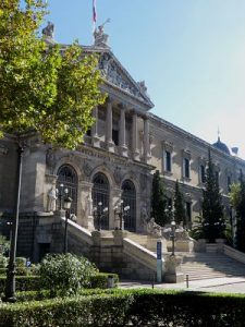 Imagen de la biblioteca nacional