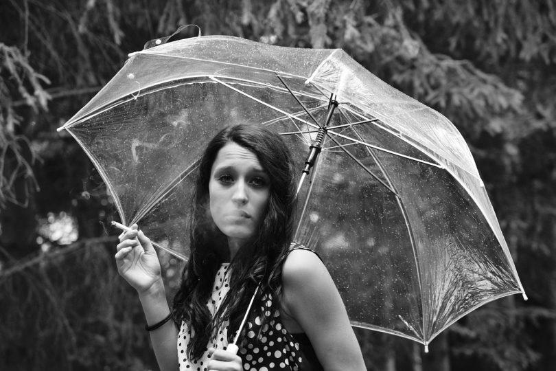 madrid con lluvia