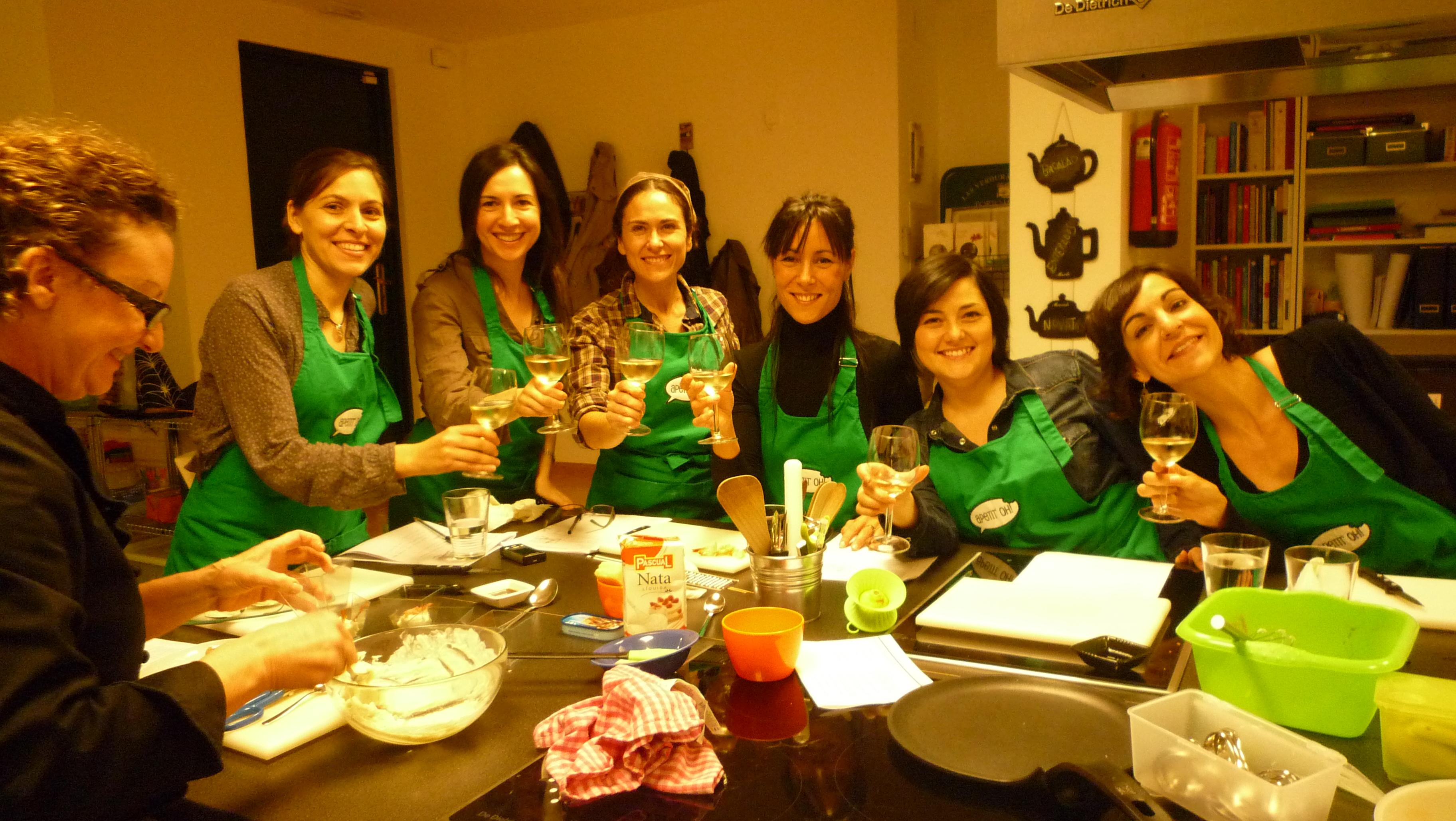 Clases de cocina en madrid shmadrid for Cursos de cocina para ninos madrid