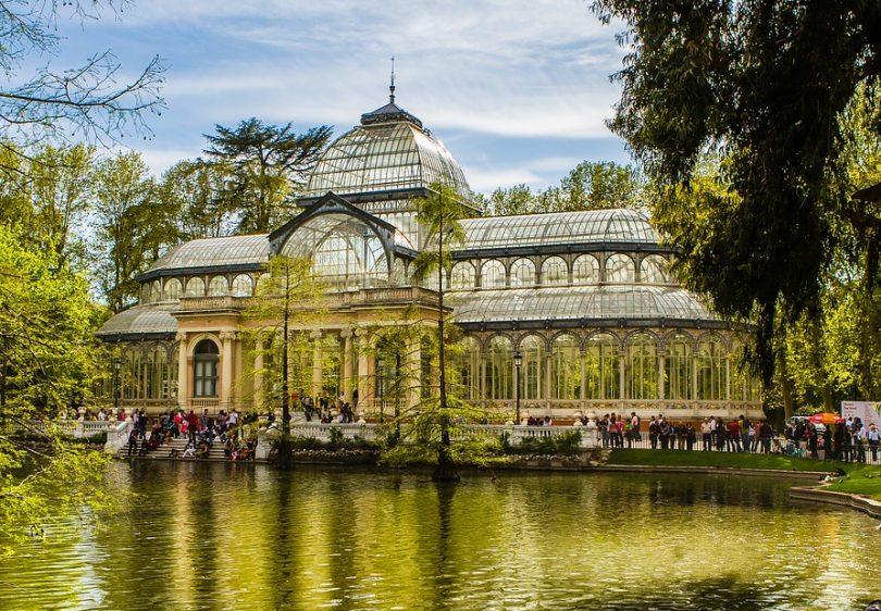 Historia del parque del retiro shmadrid for Parque del retiro barcas
