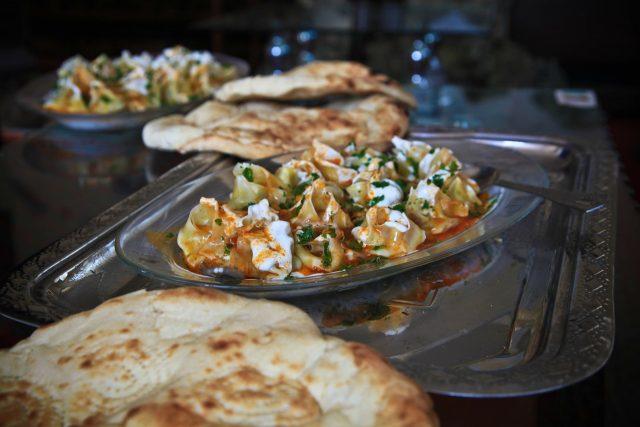 Imagen de platos típicos del Líbano