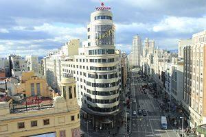 Vista del centro de Madrid