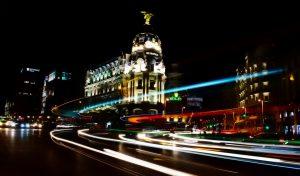 Centro de la ciudad de Madrid