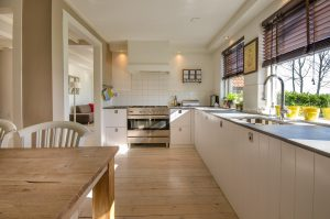 Imagen de una cocina blanca
