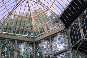Imagen del Palacio de Cristal de Parque del Retiro