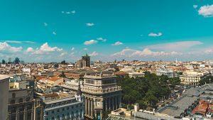 Imagen aérea de Madrid