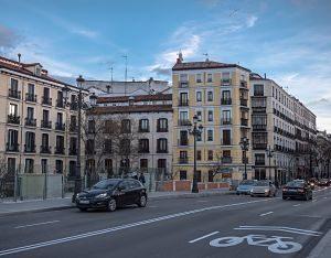 Foto de una calle de madrid