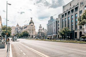 Imagen de las calles de Madrid