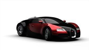 Imagen de un coche de lujo