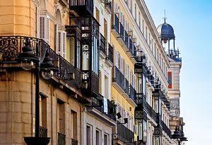 Imagen de edificios de madrid