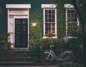 Imagen de la fachada de una casa