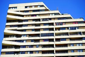 Imagen de un edificio de pisos de alquiler