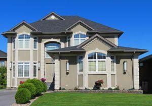 Imagen del exterior de una casa unifamiliar