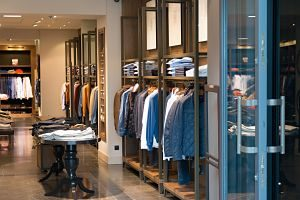 Imagen de una tienda de ropa