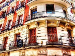 Imagen de un edificio en Madrid