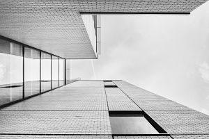 Imagen de una casa futurista