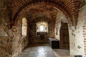 Imagen del interior de un castillo
