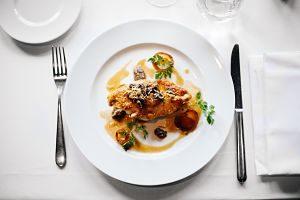 Imagen de un plato con comida