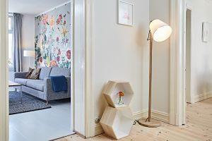 Imagen de un salón en blanco
