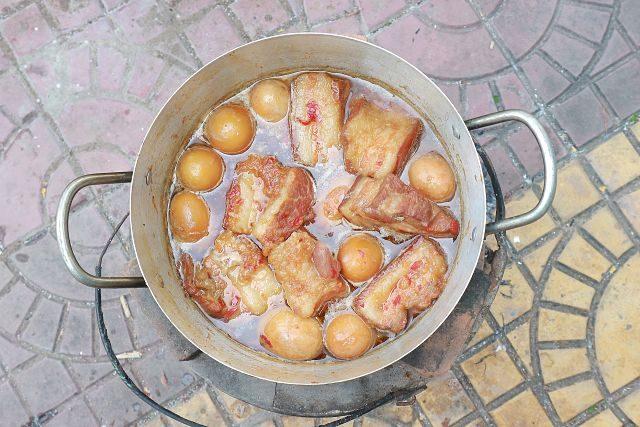 Imagen de un cocido madrileño