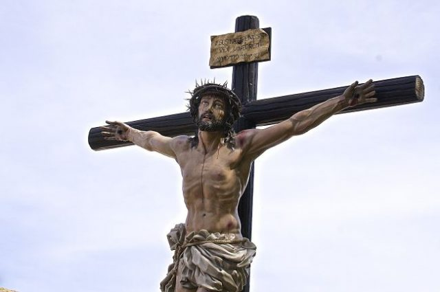 Imagen de Cristo crucificado