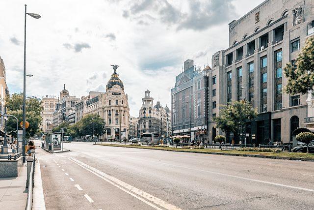 Imagen de la Gran Vía de Madrid