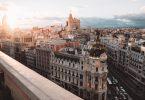 Foto aérea de Madrid