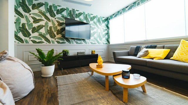 decoracion de habitaciones con papel decorativo