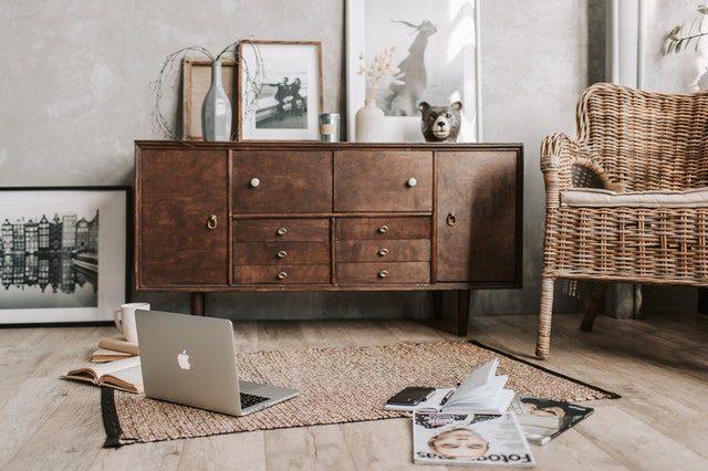 muebles naturales de madera