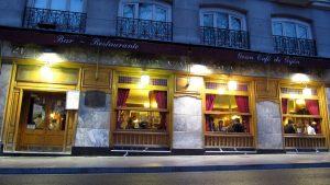 Exterior del Café Gijón