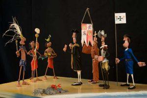Figuras de plastilina
